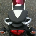 Rear end and pillion handles